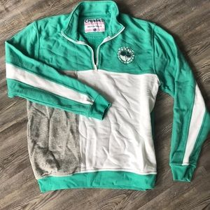 Chubbies Quarter Zip Sweatshirt—Large